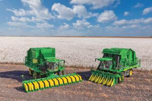new john deere cotton harvesters