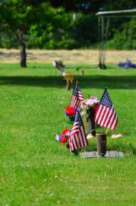 estate tax grave site