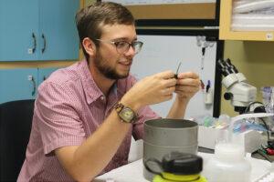 graduate student carson bowers