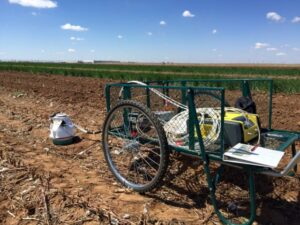 device measures greenhouse gas emissions